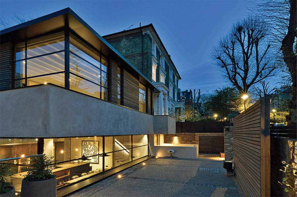 slide: Iconic style in London A Landmark Modernist Home